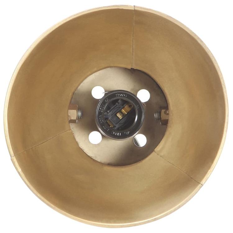 Skrivbordslampa industriell mässing rund 58x18x90 cm E27