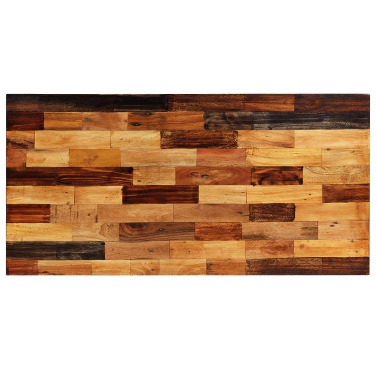 Barbord massivt återvunnet trä 120x60x106 cm