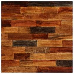 Barbord massivt återvunnet trä 70x70x106 cm