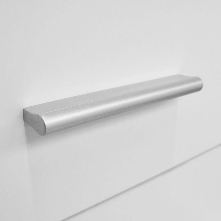 Byrå spånskiva 71x35x106 cm vit