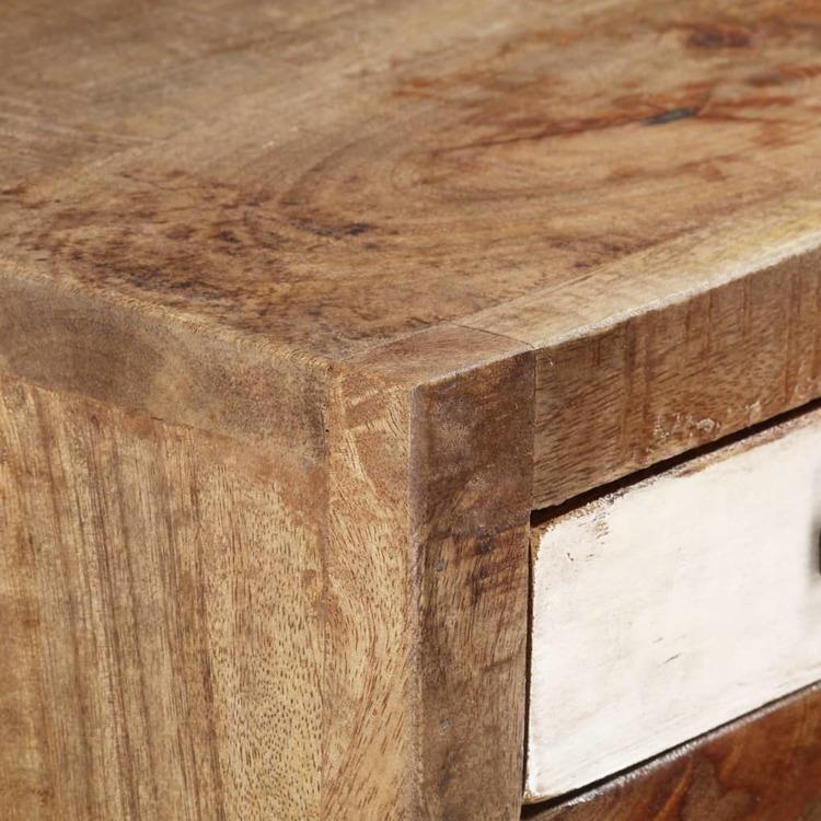 Byrå 45x30x105 cm massivt återvunnet trä