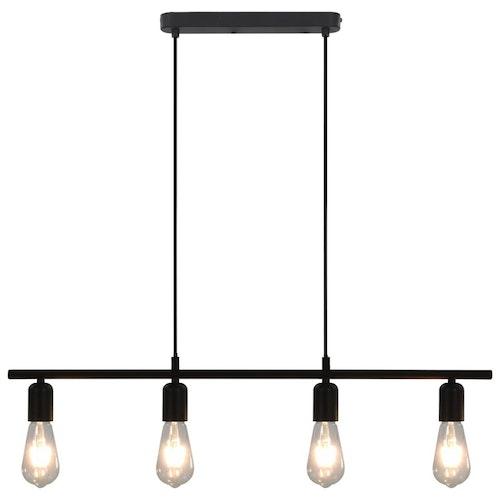 Taklampa svart 80 cm E27