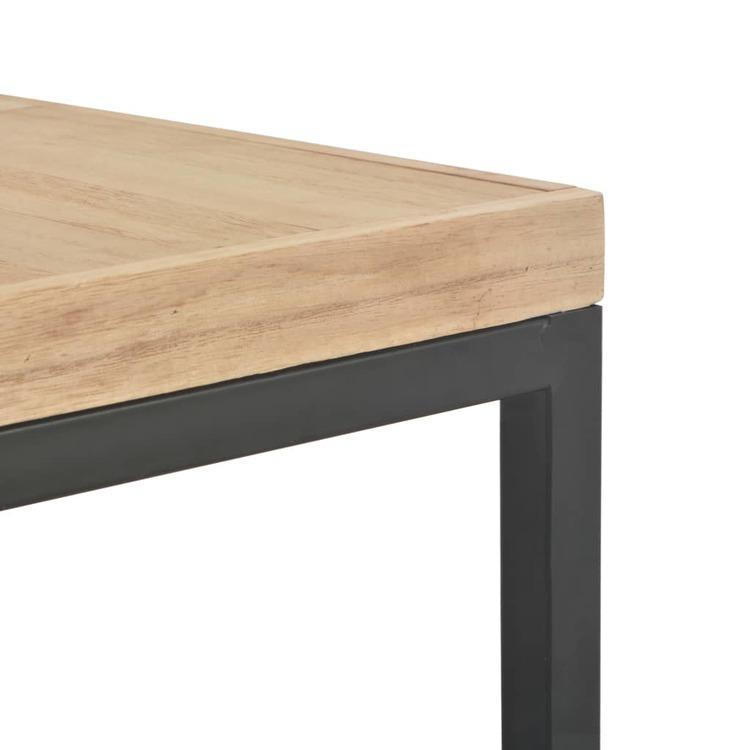 Soffbord 50x50x33,5 cm massivt trä
