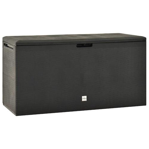 Dynbox antracit 114x47x60 cm