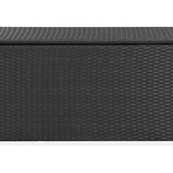 Dynbox konstrotting 100x50x50 cm svart