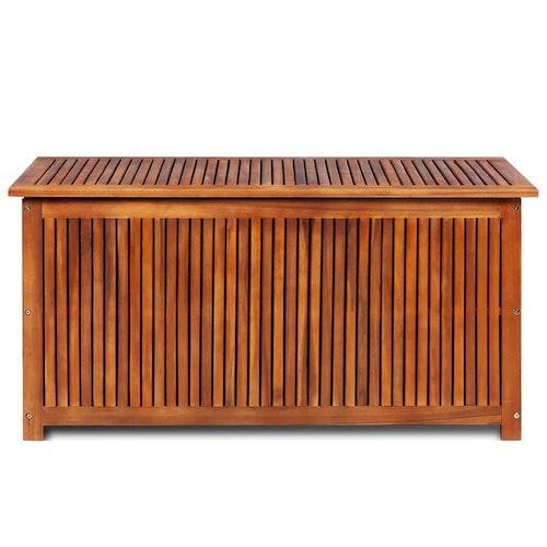 Dynbox 117x50x58 cm massivt akaciaträ
