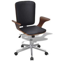 Kontorsstol med snurr och konstläderklädsel Bentwood