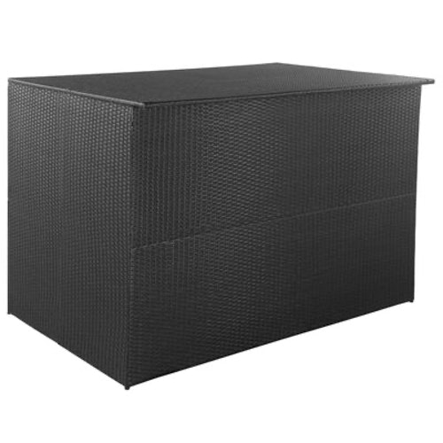 Dynbox 150x100x100 konstrotting svart