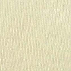 Solsegel oxfordtyg kvadratiskt 3,6x3,6 m gräddvitt