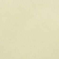 Solsegel Oxfordtyg fyrkantigt 2x2 m gräddvit