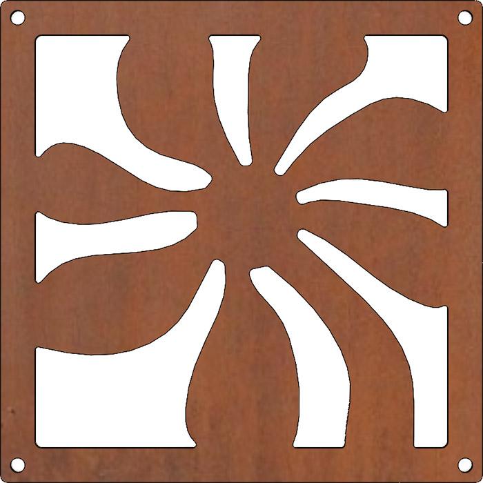Rusty flower sling