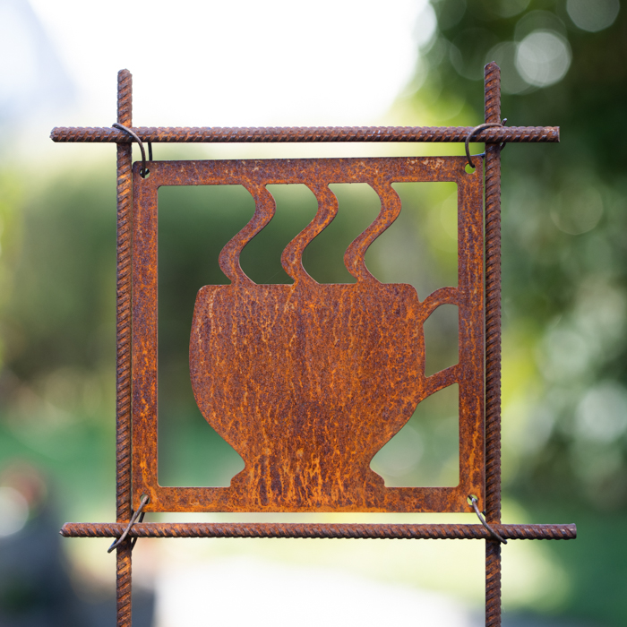 Hot rust cup