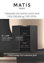 Matis Caviar set The cream + The eye