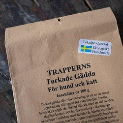 Trapperns Torkade Gädda 100g