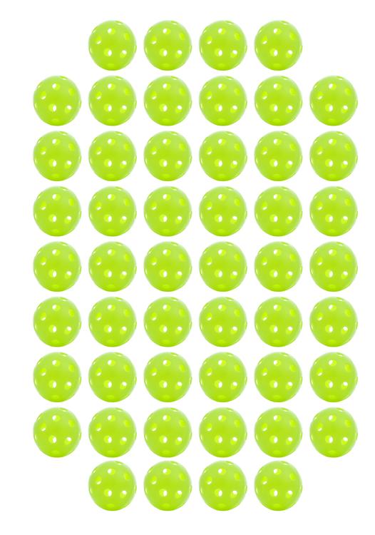 Jugs Pickleballs Limegröna 100 Pack