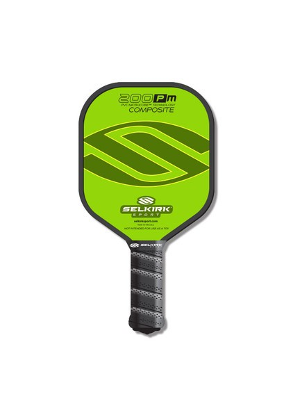 Selkirk 200P Mini Pickleball (Riley's) Paddle Lime Green