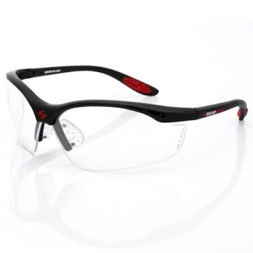 Gearbox Vision Clear Lens - Svart båge (inkluderar hårt fodral)