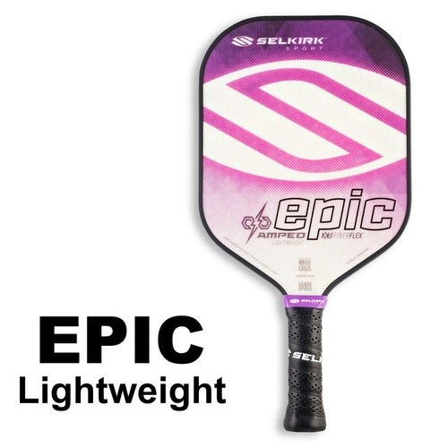 Selkirk Amped Epic Lightweight Purple