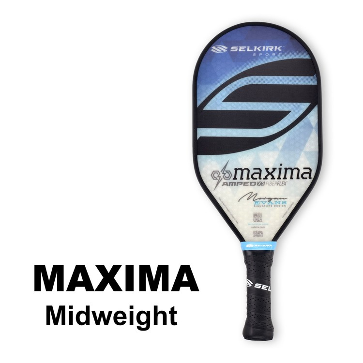 Selkirk Amped Maxima Midweight Morgan Evans Saphire Blue