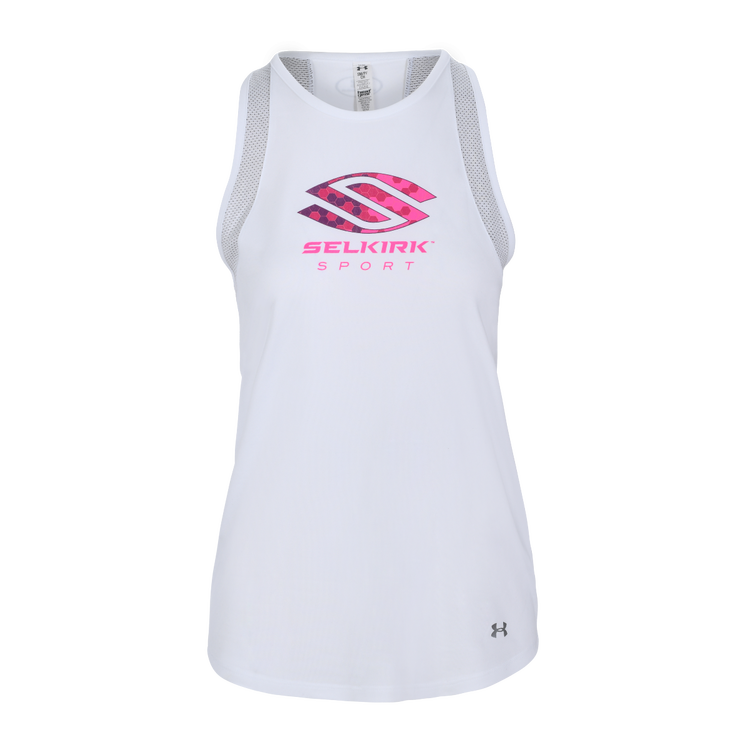 Selkirk Sport Under Armour Women's Tank By Under Armour White