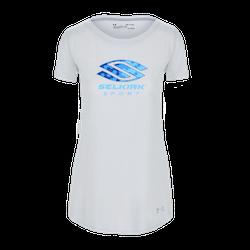Selkirk Sport UA Performance Women's T-Shirt By Under Armour Light Grey