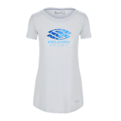 Selkirk Sport UA Performance Women's T-Shirt By Under Armour Light Grey