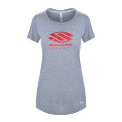 Selkirk Sport UA Performance Women's T-Shirt By Under Armour Grey
