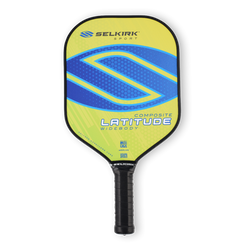 Selkirk Latitude widebody polymer composite pickleball paddle Lemon Blueberry
