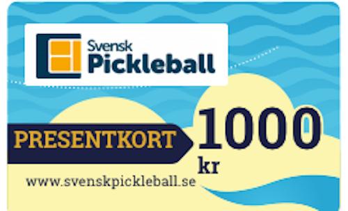 Presentkort 1000 kronor