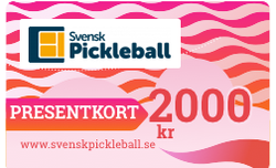 Presentkort 2000 kronor