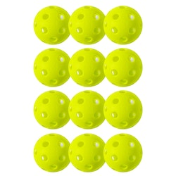Franklin Sports X-26 Indoor Optic Gul 12-Pack SM-Bollen 2020