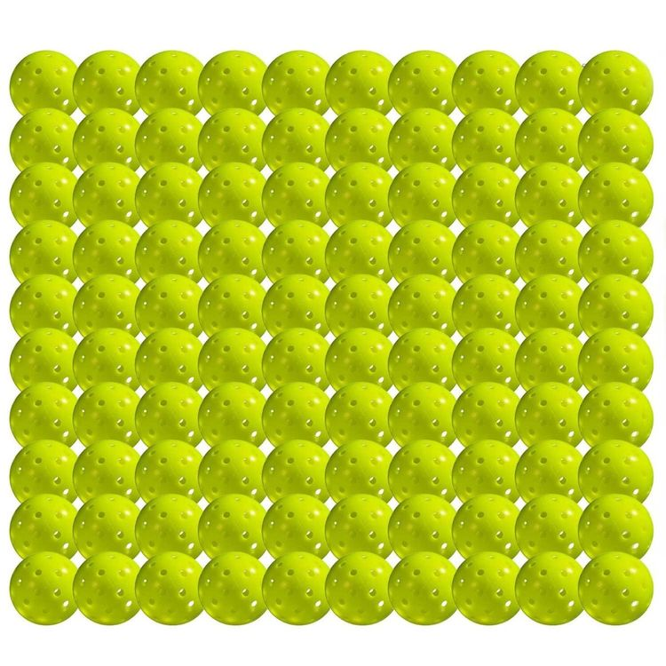 Franklin Sports X-40 Pickleball Ball 100-pack Optic Yellow