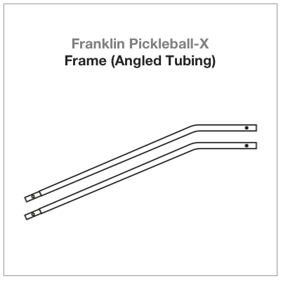 Franklin Pickleball-X Frame (Angled Tubing) 2-PAC