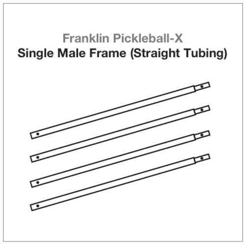 Franklin Pickleball-X Single Male Frame (Straight Tubing) 4 PAC