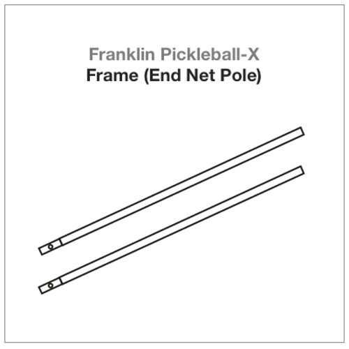 Franklin Pickleball-X Frame (End Net Pole) 2 PAC