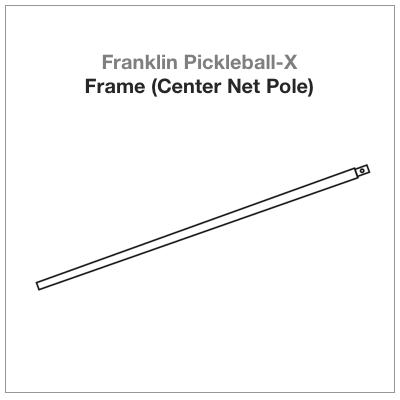 Franklin Pickleball-X Frame (Center Net Pole)