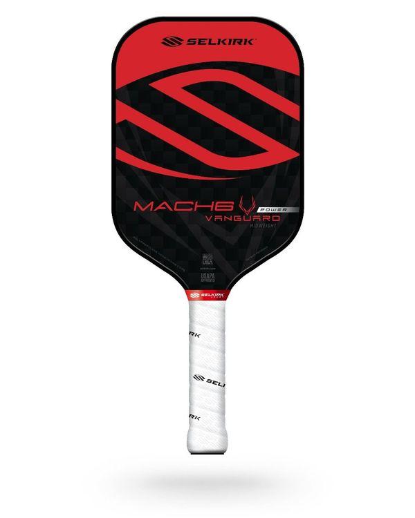 Selkirk Vanguard Power Mach6 Lightweight Crimson Black