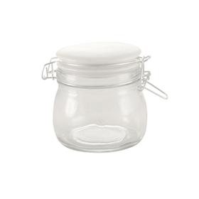 Paketerbjudande Glasburkar med Snäpplock i Porslin 0,5L 6st