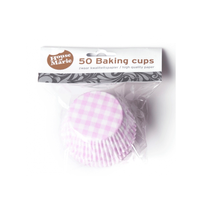 Muffinsformar Rutiga Rosa
