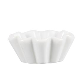 Muffinsform Mynte Pure White