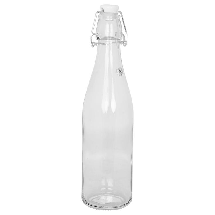 Glasflaska med patentkork 0,5L