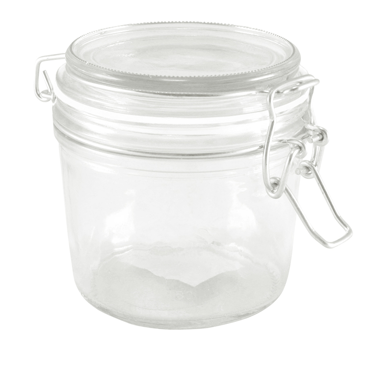 Glasburk med snäpplock 300 ml