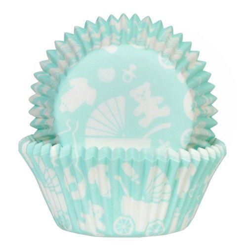 Muffinsformar Baby Mintgrön