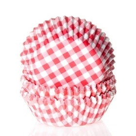Muffinsformar Rutiga Röda