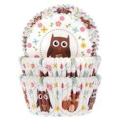 Muffinsformar Uggla och Räv