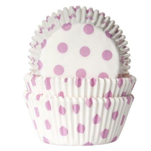 Muffinsformar Rosa Prickar