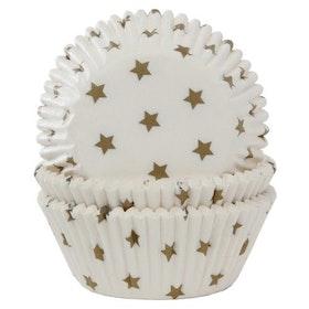 Muffinsformar Guldstjärnor