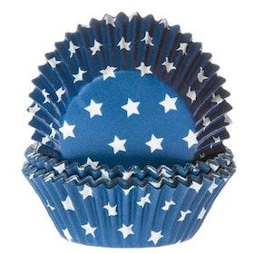 Muffinsformar Blå med Stjärnor