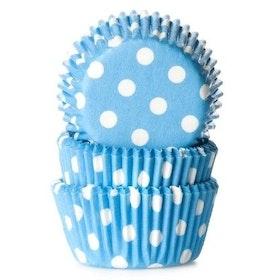 Minimuffinsformar Prickiga blå
