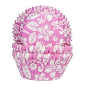 Muffinsformar Rosa med Blommor